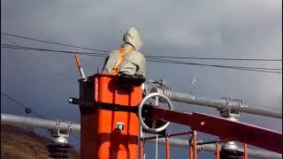 Homologação Cemig Cesto Acoplado Isolado NR12 230 kV