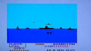 Beach-Head on Enterprise 64 rare 8 bit vintage home computer. Gameplay & Commentary