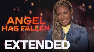 Jada Pinkett Smith On Working With Gerard Butler | EXTENDED