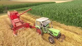 Landwirtschaft 2017 -  Getreide-Ernte