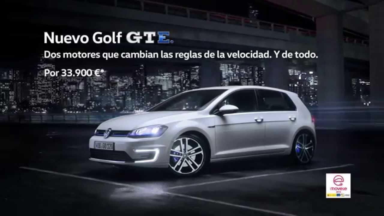Posibilidades Gracias Suponer  Anuncio Volkswagen Golf GTE 2015 - YouTube