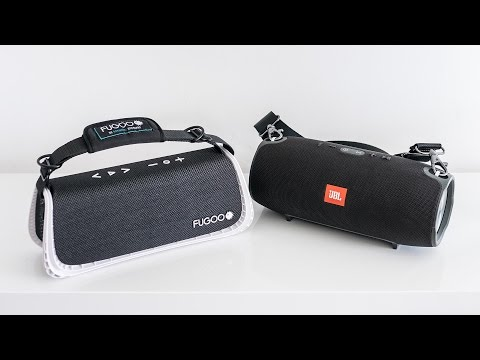 Fugoo XL vs JBL Xtreme - indoor soundcheck
