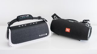 Buy the Fugoo XL: http://amzn.to/1Od4OKZ Buy the JBL Xtreme: http:/...