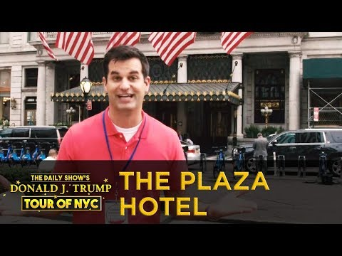 The Daily Show's Donald J. Trump Tour Of NYC - The Plaza Hotel