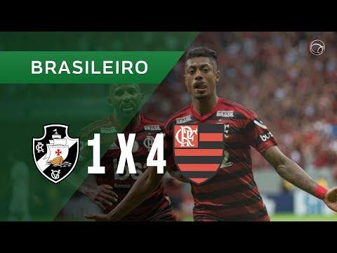 VASCO 1 X 4 FLAMENGO - GOLS - 17/08 - CAMPEONATO BRASILEIRO 2019