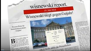 Wisnewski siegt: Prozess-Pleite für BR-Reporter Gutjahr