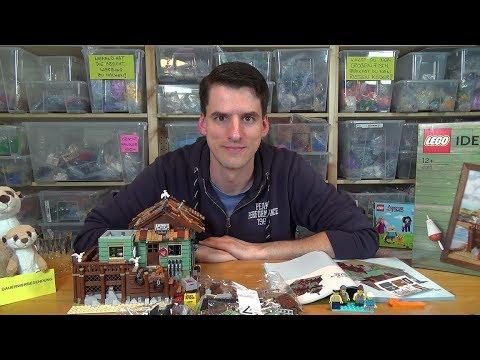 Bauen mit dem Helden - LEGO® Ideas 21310 - Alter Angelladen - Bauabschluss