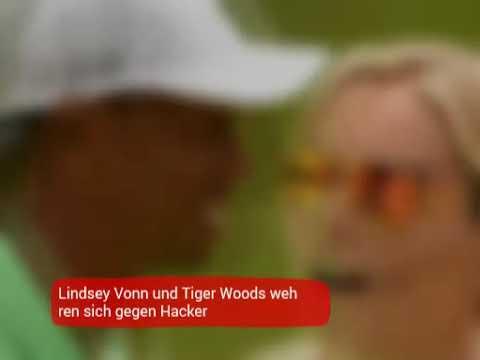 Hacker fotos vonn lindsey Tiger Woods