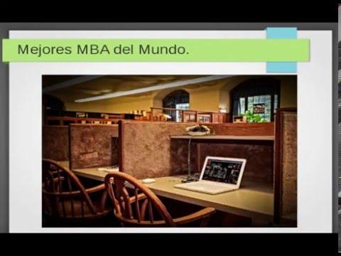 Mejores MBA del mundo - Ranking - Escuelas de negocios