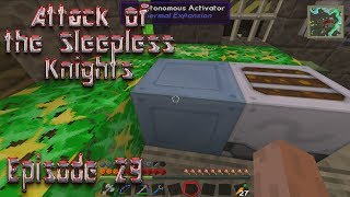 Minecraft - Attack of the Sleepless Knights - Episode 29: More XP Fuel Sources!