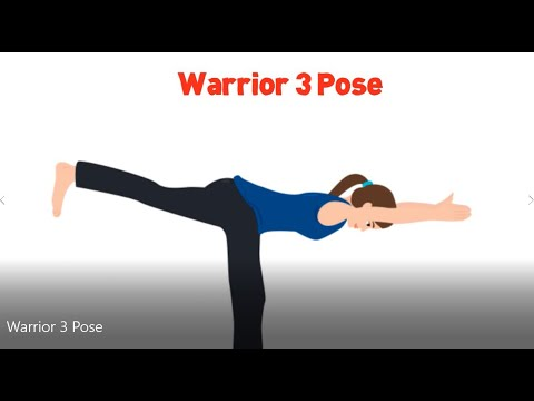 warrior 3 yoga pose for beginners  youtube