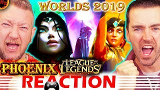 Phoenix REACTION! Worlds 2019 - League of Legends (ft. Cailin Russo and Chrissy Costanza) LoL