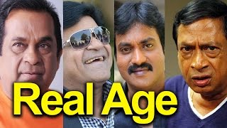 Famous South Indian Comedians Real Age!