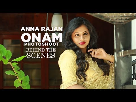 Behind the Scenes video of Anna Rajan Photoshoot for Grihalakshmi