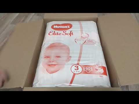 Подгузники Huggies Elite Soft 3 5-9 кг 160 шт (5029054566213)
