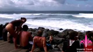 видео Три города Терсейры (Азорские острова): Ангра-ду-Эроишму, Прай-да-Витория и Порту-Мартинш