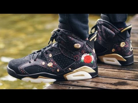 new arrival 5f72b 70e35 Air Jordan 6 VI CNY Chinese New Year 2018 Retro Sneaker Detailed Review