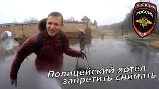 Новгород 2017 - Замело Снегом. Проблемы с Полицией. Ночью На Ж/Д Станции