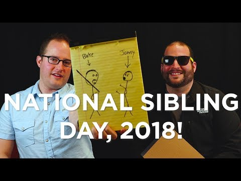 National Sibling Day 2018 with The Moroni Brothers! | Clix