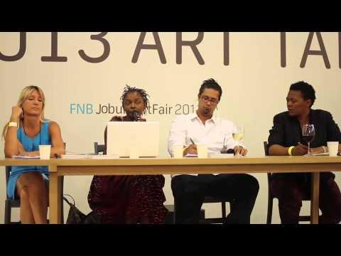 Book Launch Condition Report at FNB Joburg Art Fair 2013
