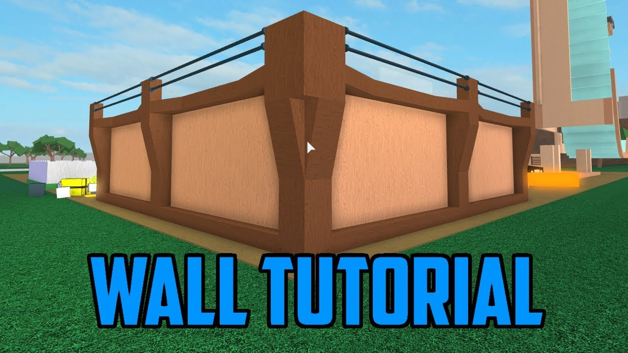 🔨How To Build A Wall! Roblox Lumber Tycoon 2