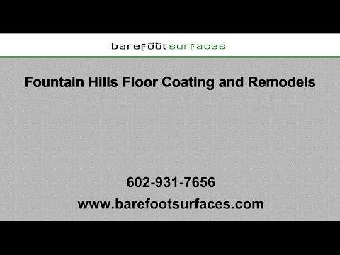 Fountain Hills Garage Floor Coatings | Barefoot Surfaces
