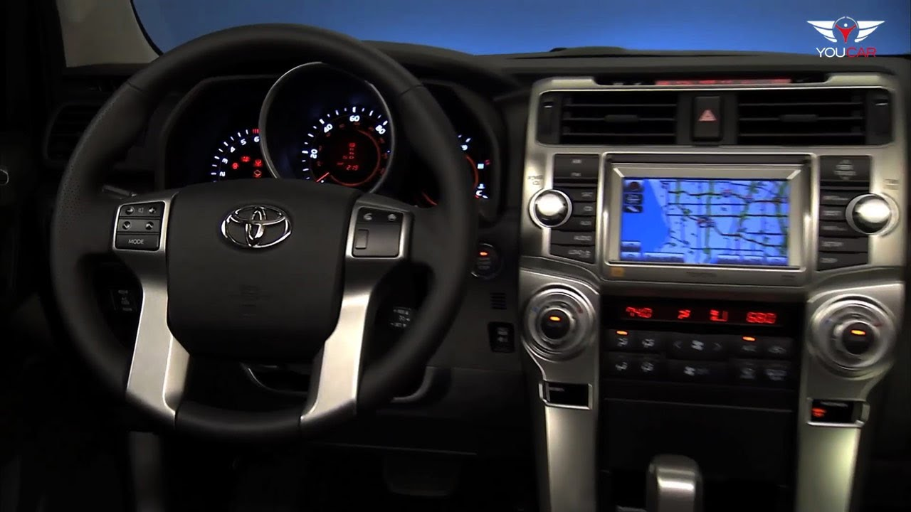2012 Toyota 4Runner Limited - INTERIOR - YouTube
