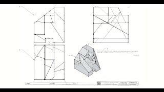 Solución ejercicio - 3ª convocatoria Expresión Gráfica Aeroespacial