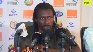 Aliou Cissé publie la liste des 23 joueurs pour la match Madagascar- Senegal
