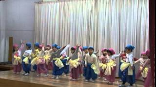 笠原幼稚園生活発表会 2015 2 14.