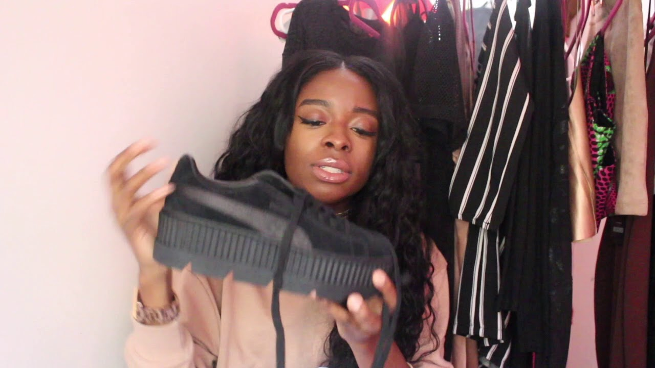 competitive price 6aea8 fde3c Fenty PUMA By Rihanna Black Suede Cleated Creeper Unboxing