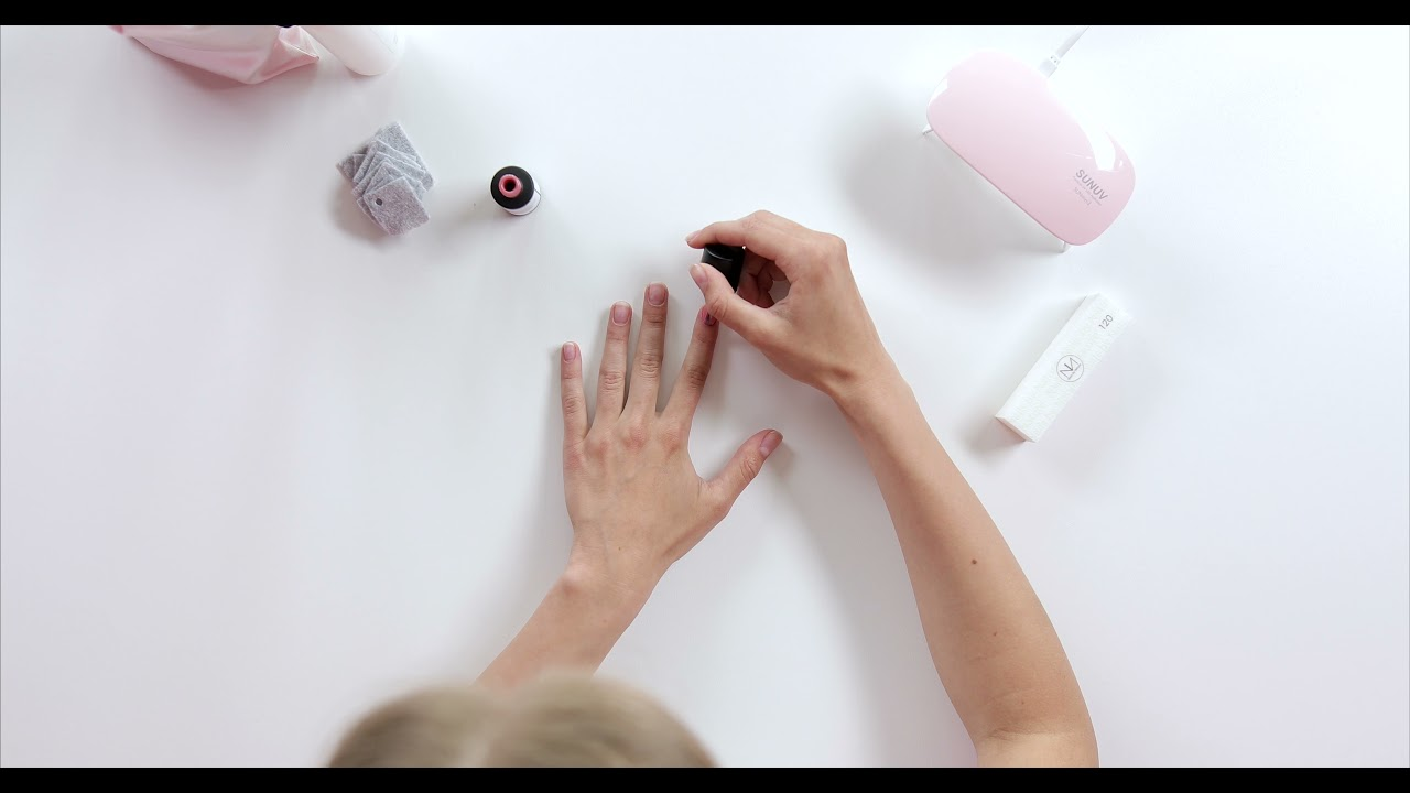 APPLYING AND REMOVING GEL POLISH with Nails by Nature gel manicure home kit! (video)
