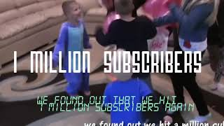 FAMILY FUN PACK CELEBRATING I MILLION SUBSCRIBERS AGAIN