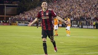 Miguel Almiron Hat Trick Vs. Houston Dynamo | Atlanta United Highlights | 5.20.17