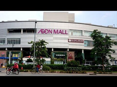 AEON Mall Binh Tan | Travel in Saigon - HoChiMinh City 2017