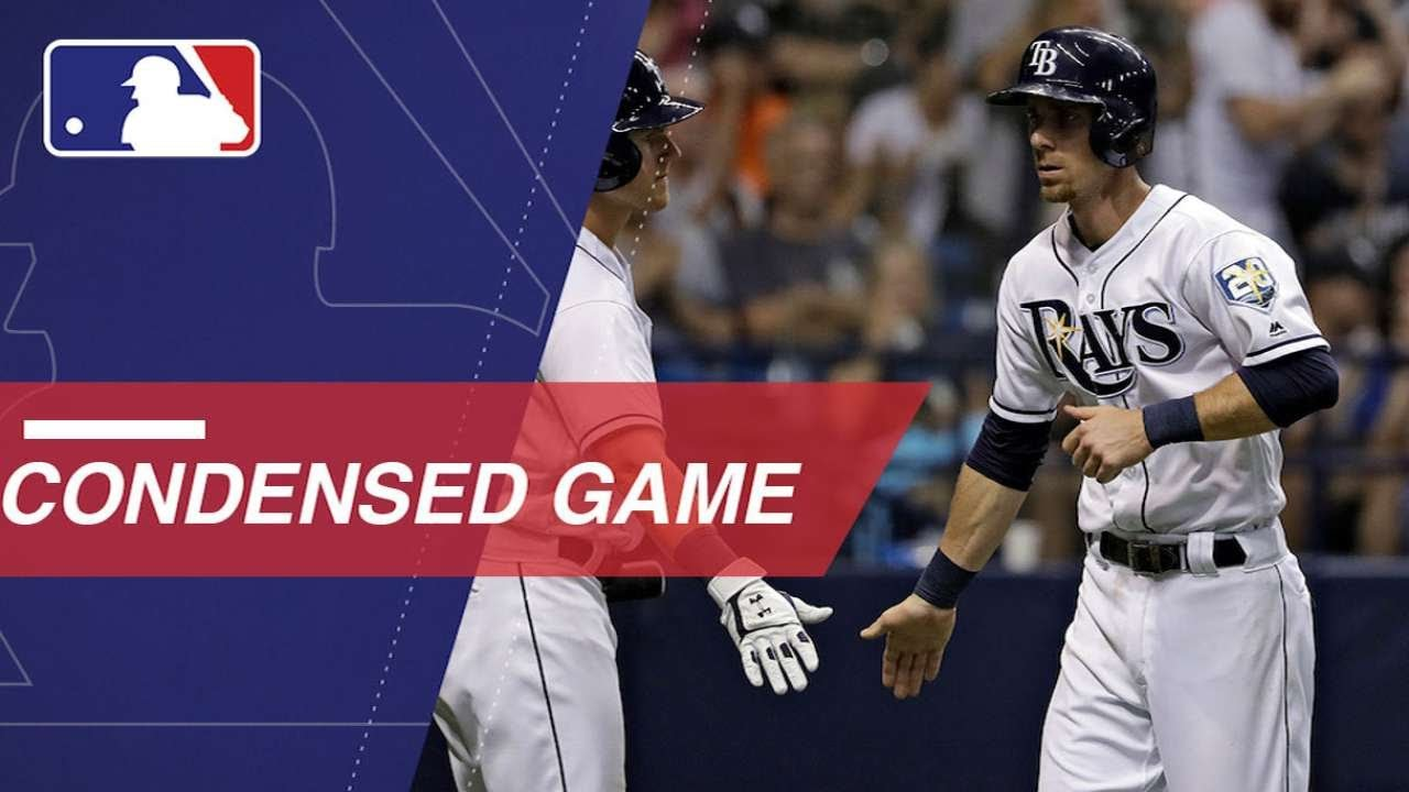 Condensed Game: NYY@TB - 6/22/18
