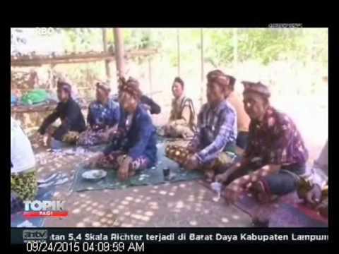 [ANTV] TOPIK WISATA BUDAYA Nyongkolan, Tradisi Perkawinan Suku Sasak Lombok