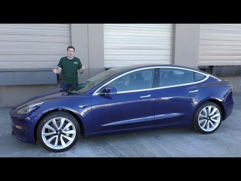 Here's Why the Tesla Model 3 Is the Coolest Car of 2017