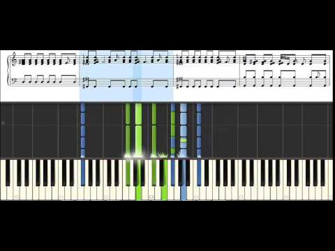 love is feeling - the heir ost - piano synthesia