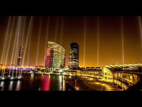 Dubai Festival City - Big Show On Earth - Guinness World Record 2016 (4K)