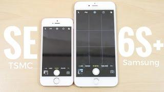 iPhone SE vs iPhone 6S Plus iOS 10.2 -Speed Test