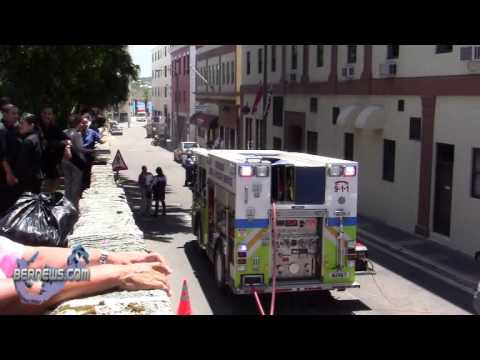 Fire Service Responds Par-La-Ville Road Bermuda May 17 2011