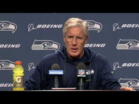 Seahawks Head Coach Pete Carroll Week 12 Wednesday Press Conference