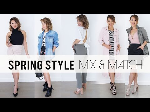 Spring 2016 Mix & Match Outfit Ideas | Lookbook | ANN LE