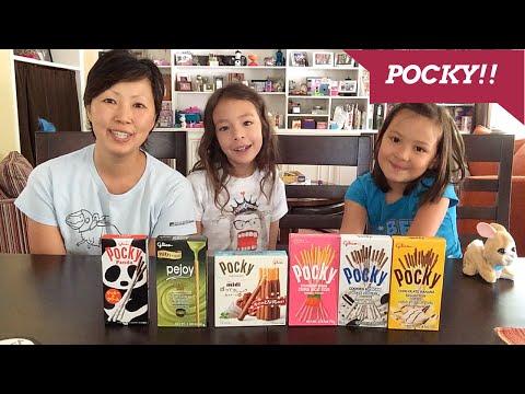 POCKY - Six Flavors!!