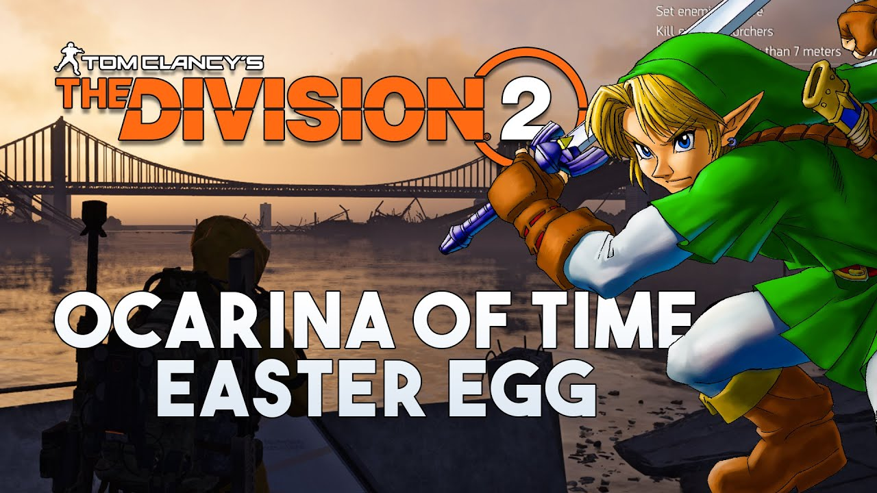 The Division 2 Warlords of New York - Zelda Ocarina of Time Easter Egg