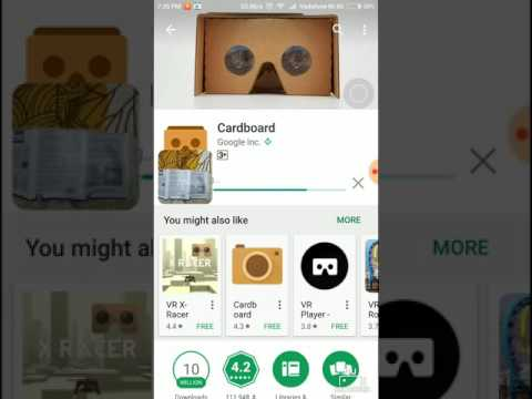 Google Cardboard App Installation And How To Set It Up.