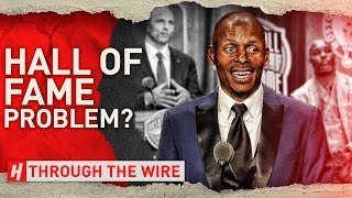 Is There A Problem With The Basketball Hall of Fame? | Through The Wire Podcast