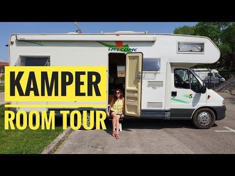 Kamper dla 6 osób w środku jak wygląda - room tour 2
