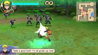 (PSP) Naruto Ultimate Ninja Impact gameplay